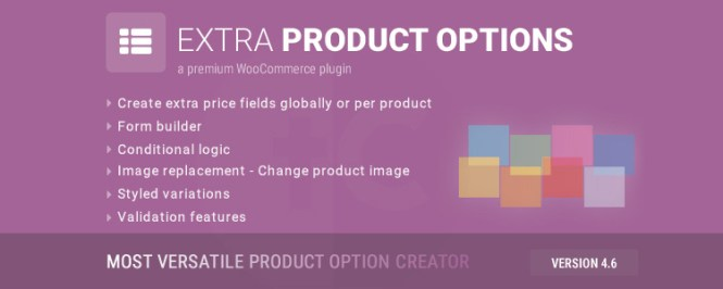 WooCommerce Extra Product Options Premium WordPress Plugin
