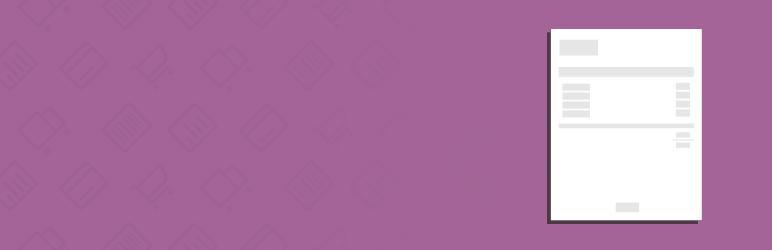 WooCommerce PDF Invoices Free WordPress Plugin