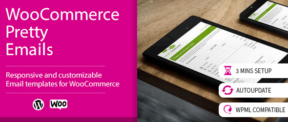WooCommerce Pretty Emails Премиум плагин для WordPress