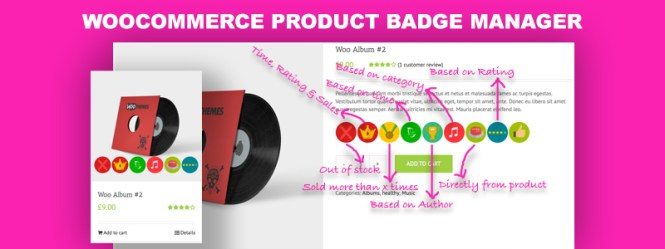 WooCommerce Product Badge Manager Premium Plugin