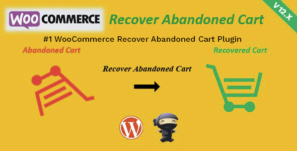 WooCommerce Recover Abandoned Cart Premium Plugin WordPress