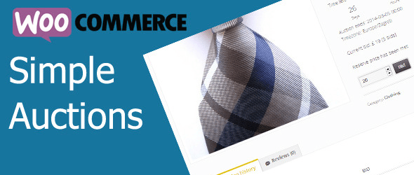 WooCommerce Simple Auctions Plugin Premium de WordPress