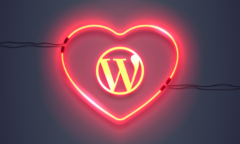 WordPress WallPapers & Swag: Show Love for WordPress