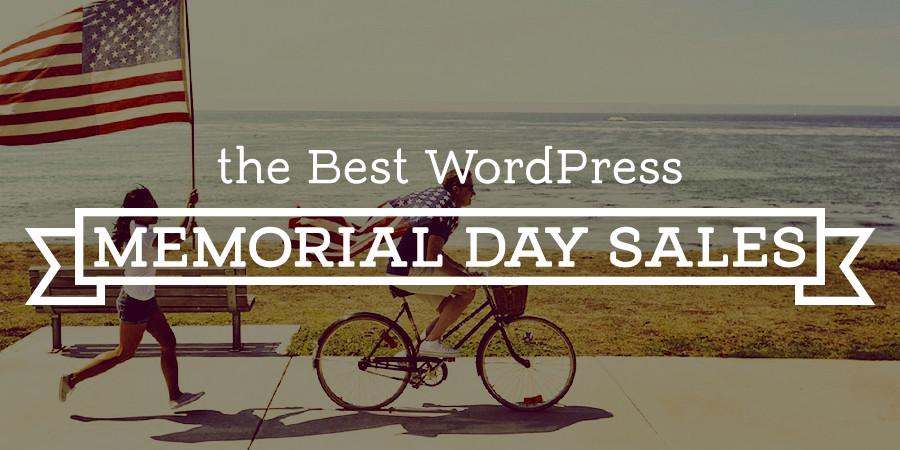 WordPress Memorial Day Discounts & Coupons 2017