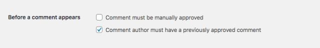 الإشراف على التعليقات في WordPress: قبل ظهور التعليق