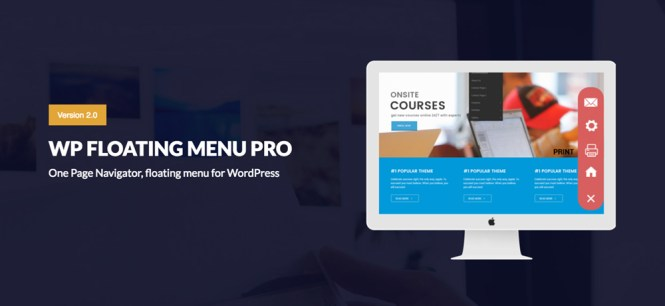 WP Floating Menu Pro Premium Plugin WordPress
