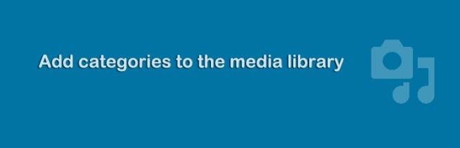 Catégories de la médiathèque