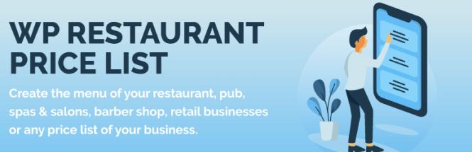 Liste de prix WP Restaurant