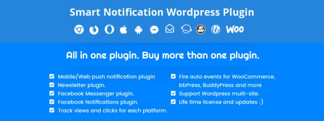 Smart Notifications Premium WordPress Plugin