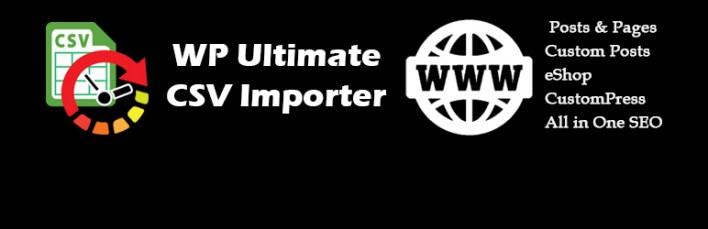 Ultimate CSV Importador Plugin