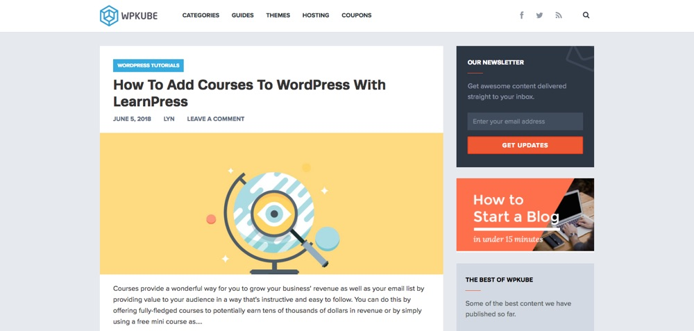 WordPress Blogs You Should Follow - WPkube