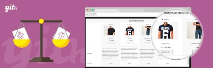 YITH WooCommerce compara el complemento gratuito de WordPress