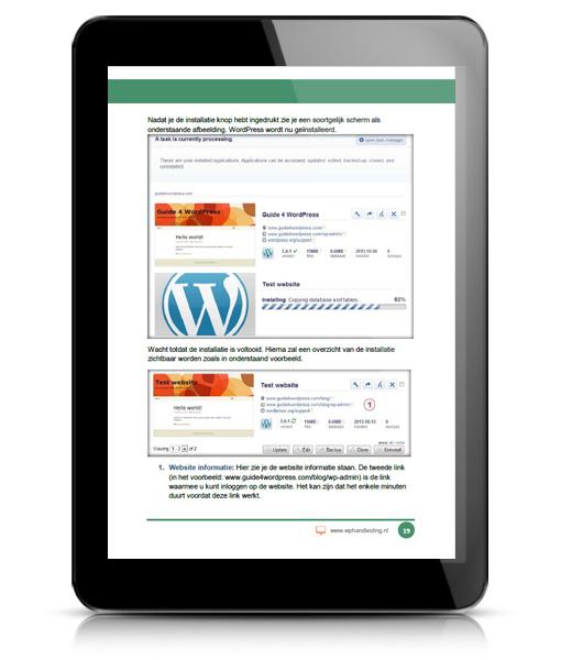 WordPress Installeren - leer hoe je WordPress installeert