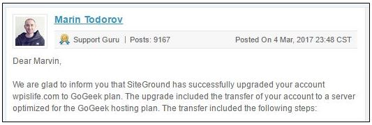 , SiteGround WordPress Managed Hosting Review – Website Page Speed Plan Comparison