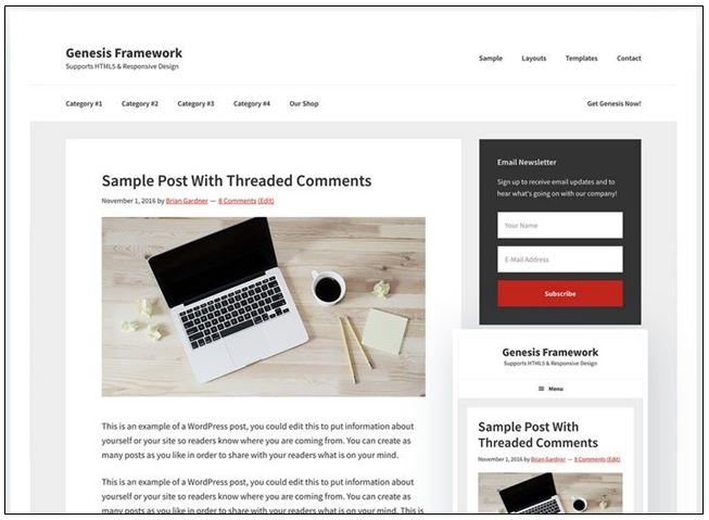 , 5 Best WordPress Themes From StudioPress