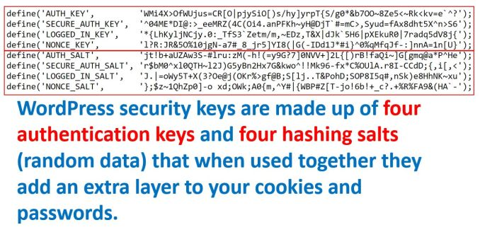 How to Update WordPress Security Keys using wp-config.php file