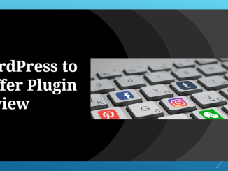 How to do Social Media Automation Using Buffer in WordPress