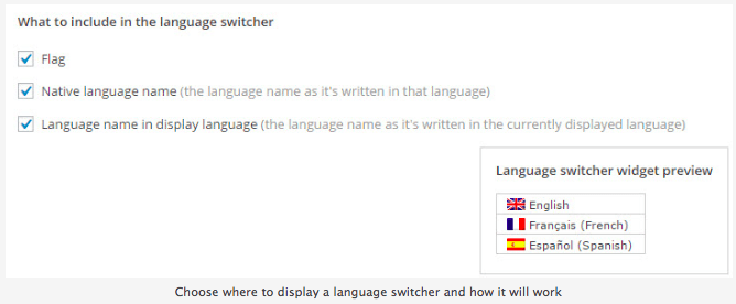 wpml-language-switcher How to Build a Multilingual Site in WordPress