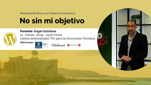 Cartela Meetup analítica web