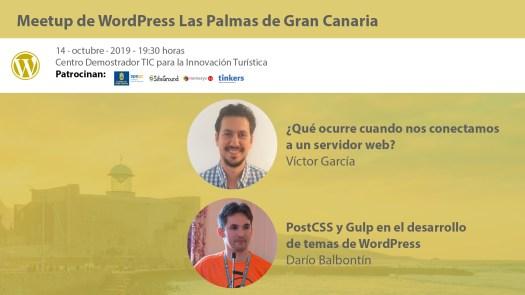 Cartela Meetup doble Víctor García y Darío Balbontin