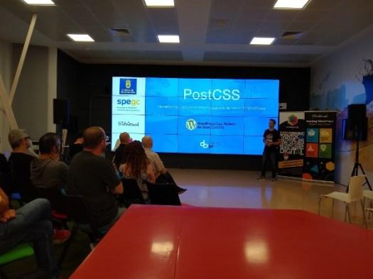 Meetup doble con Darío Balbontín sobre PostCSS