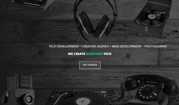 Hipstech WordPress Theme