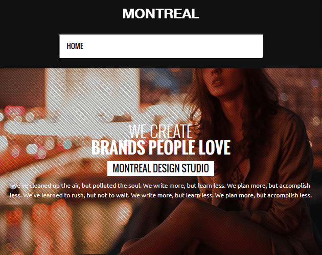 Montreal - WordPress Animation Themes