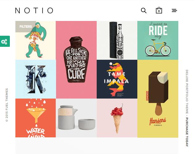 Notio - WordPress Animation Themes