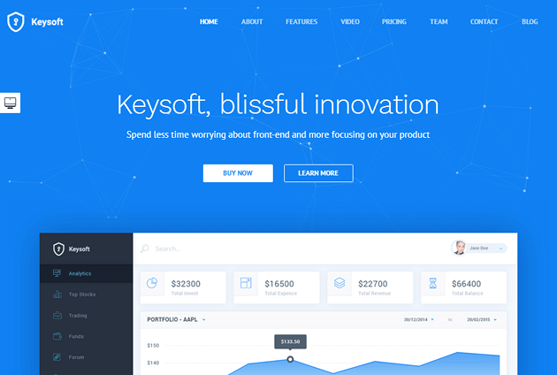 KeySoft WordPress Theme