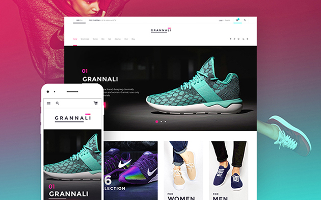 footwear WooCommerce theme