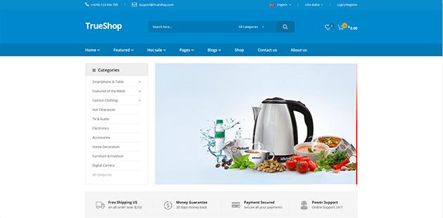 TrueShop - Multipurpose WordPress Theme