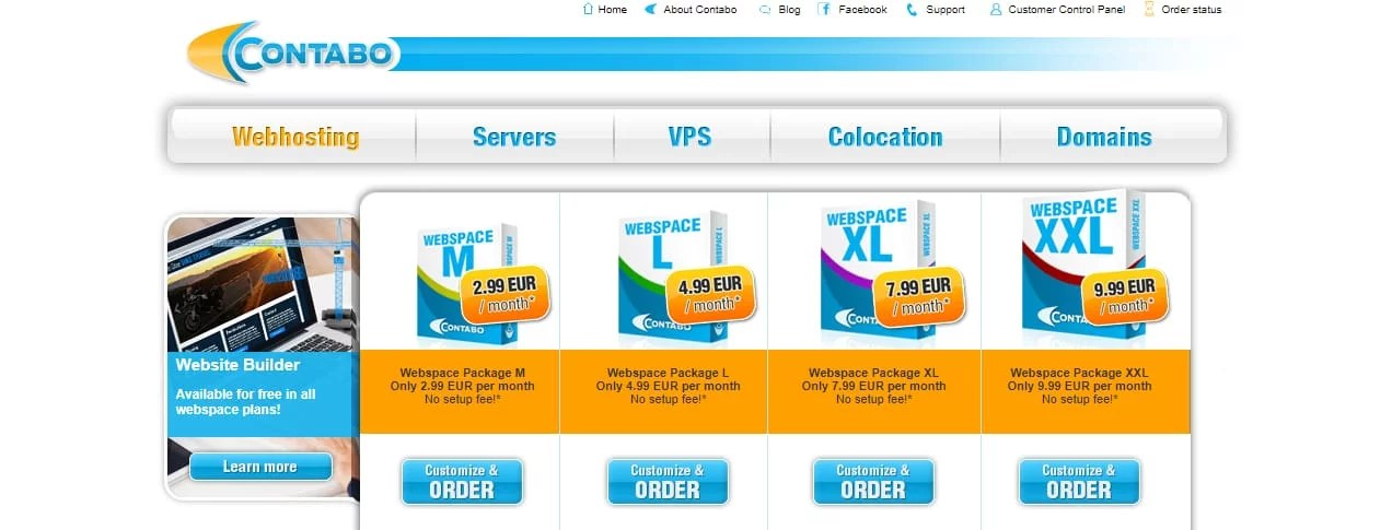 Contabo Best Web Hosting Europe