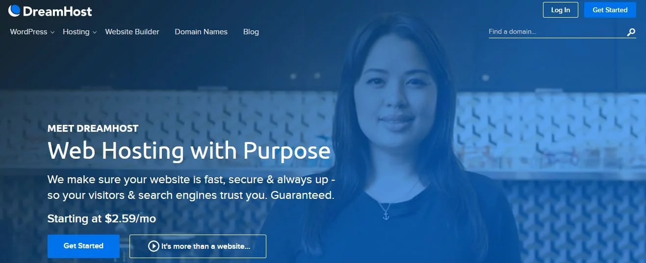 DreamHost Small Business Web Hosting
