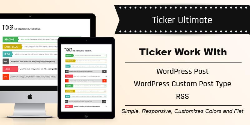Ticker Ultimate – WordPress Plugin