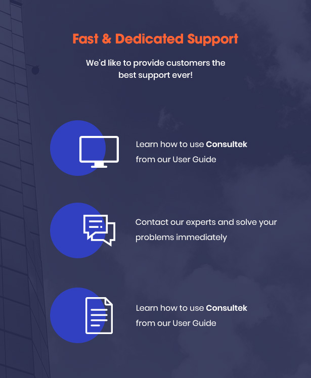 Consultek Best Support- Corporate Business WordPress Theme