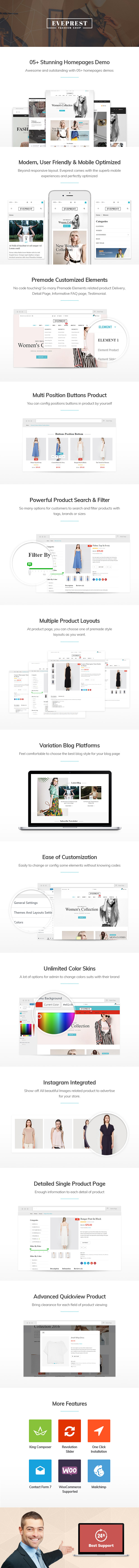 WordPress Woocommerce Theme