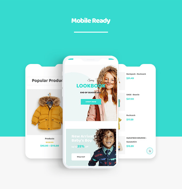 Kiddo Responsive Fashion WooCommerce WordPress Theme for Baby Kids