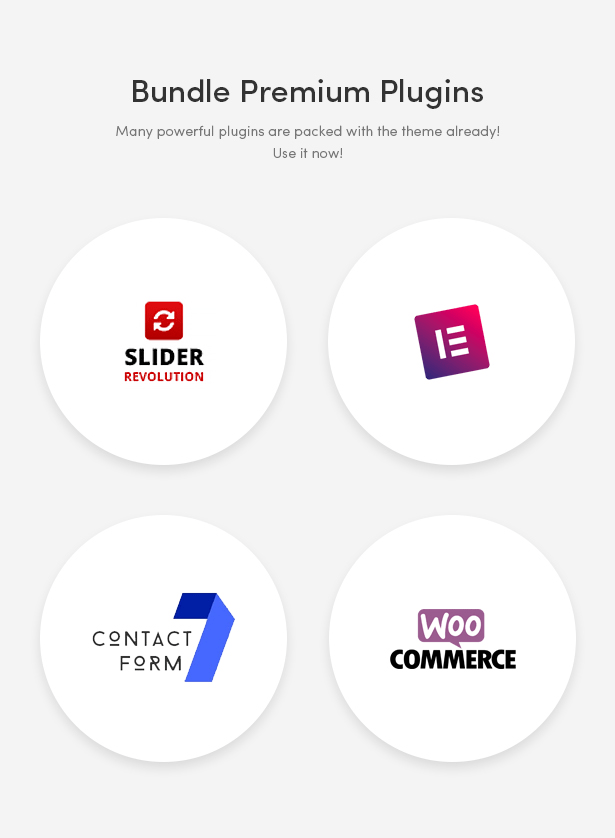 Popular WordPress Plugins Integrated - Zoli - Minimal & Modern Fashion WooCommerce WordPress Theme
