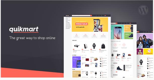 Quickmart Multipurpose WooCommerce WordPress Theme