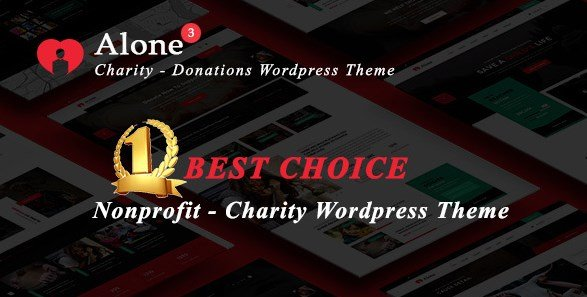 Alone - Charity Multipurpose Non-profit WordPress Theme
