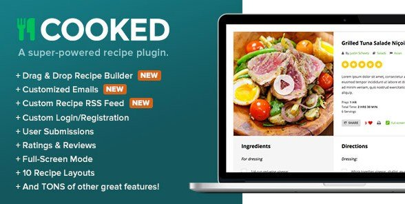 Cooked Classic - A Powerful Recipe Plugin for WordPress