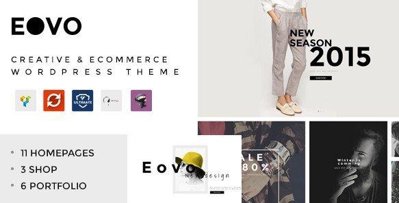 EOVO - Creative & eCommerce WordPress Theme