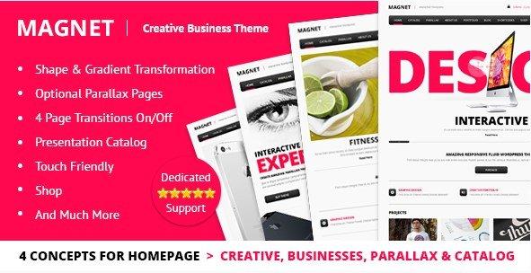 MAGNET - Creative Business WordPress Theme