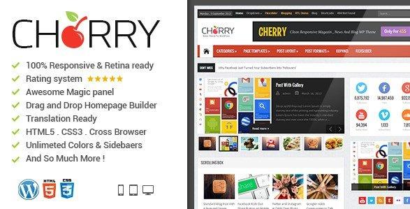 News Cherry - News Magazine Newspaper