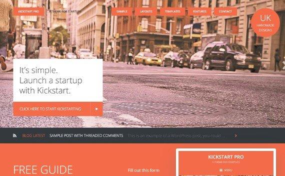 StudioPress Kickstart Pro Theme