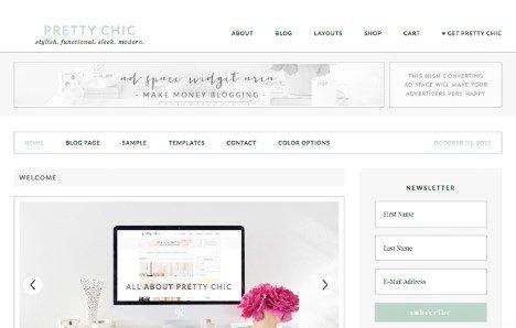 StudioPress Pretty Chic Theme
