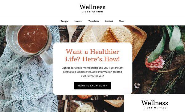 StudioPress Wellness Pro Theme