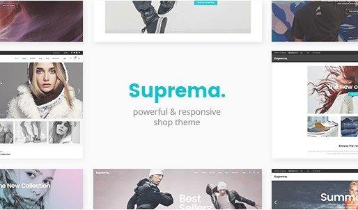 Suprema - Multipurpose eCommerce Theme