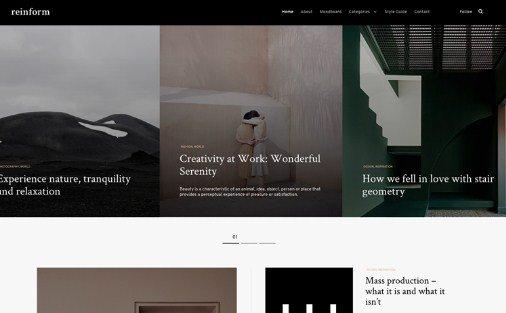 Themes Kingdom Reinform WordPress Theme