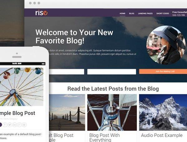 Thrive Themes Rise WordPress Theme